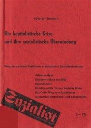 Göttinger Thesen II - Die kapitalistische Krise und ... - Jusos Bielefeld