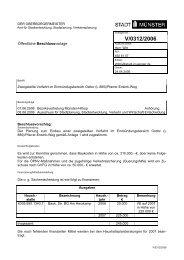 Beschlussvorlage - Vorlage V/0312/2006