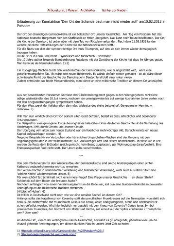 als pdf - Günter zur Nieden