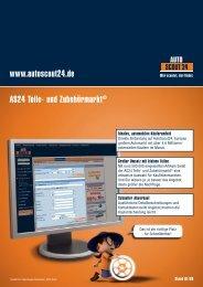 AS24 Teile- und Zubehörmarkt© www.autoscout24.de