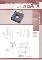 XYZ Nanopositioning Stages Series TRITOR - Page 6