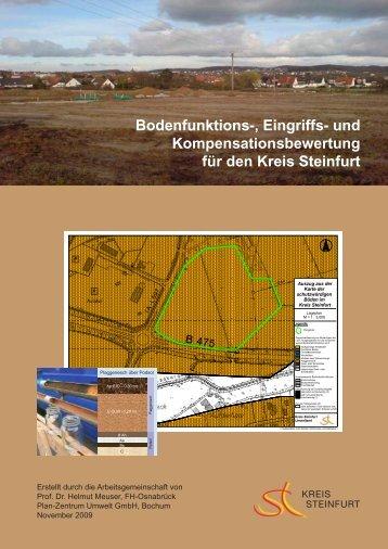Bodenfunktions-, Eingriffs- und ... - Kreis Steinfurt