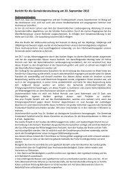 Bericht des Bürgermeisters 20.9.2012x - Gemeinde Krottendorf ...