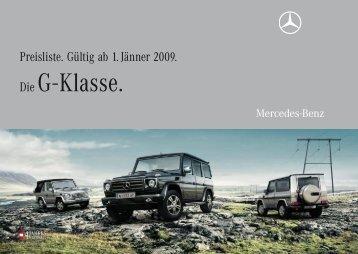 Die G - Klasse. - Motorline.cc