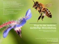 Wege in eine moderne, nachhaltige Bienenhaltung - FreeTheBees