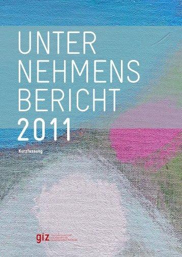 G I Z Unternehmensbericht 2011, Kurzfassung