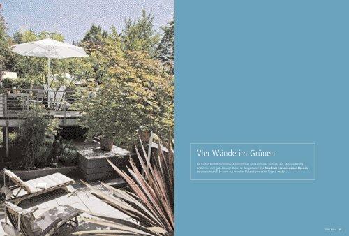 Vier Wände im Grünen - Welt des Wohnens