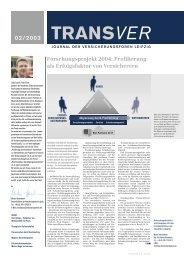 Forschungsprojekt 2004: Profilierung als Erfolgsfaktor von ...