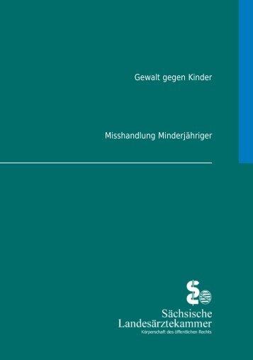 Gewalt gegen Kinder - Sächsische Landesärztekammer