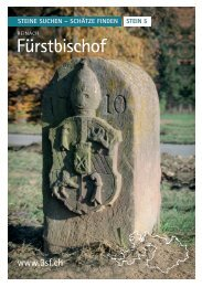 Fürstbischof - Steine suchen – Schätze finden