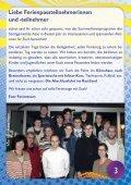 Ferienprogramm Sommer 2013 - Samtgemeinde Asse - Page 3