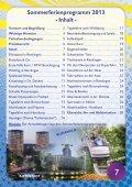 Ferienprogramm Sommer 2013 - Samtgemeinde Asse - Page 7