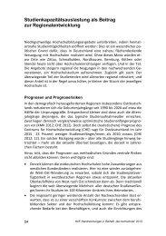 Studienkapazitätsauslastung als Beitrag zur ... - Peer Pasternack