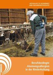 Berufsbedingte Allergien in der Rinderhaltung - Sozialversicherung ...
