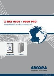 X-RAY 6000 / 6000 PRO - Sikora