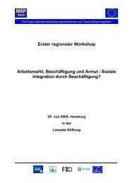 Konferenzdokumentation - Lawaetz-Stiftung