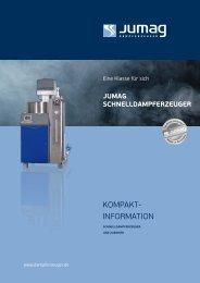 KompaKt- information - Jumag Dampferzeuger GmbH