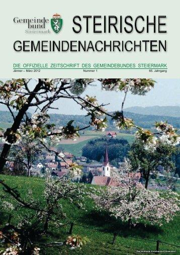 land & gemeinden - Steiermärkischer Gemeindebund - Land ...