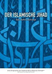 Der islamische Jihad - Ahmadiyya Muslim Jamaat Schweiz