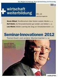 Seminar-Innovationen 2012 - Haufe.de
