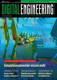 Leseprobe Digital Engineering Magazin 2012/06