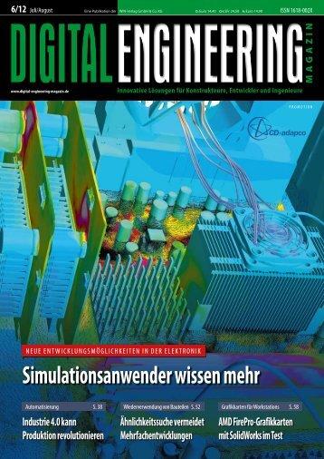 Leseprobe Digital Engineering Magazin 2012/06