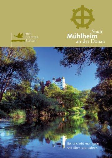 Bei uns lebt man gern seit über 1200 Jahren mit Stadtteil Stetten
