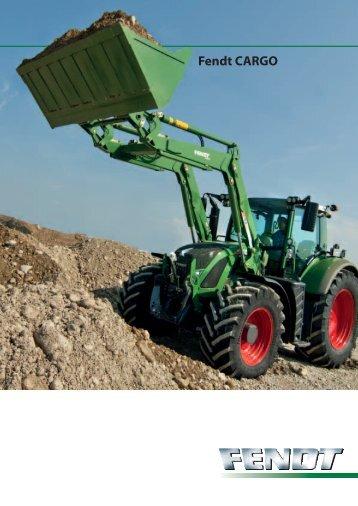 Prospekt Fendt Cargo - Brack Landmaschinen AG