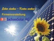 SachsenSolar AG