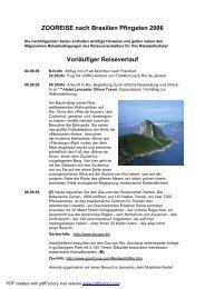 Reise 3BRAverlaufbilder.DOC - Tierparkfreunde Hellabrunn eV