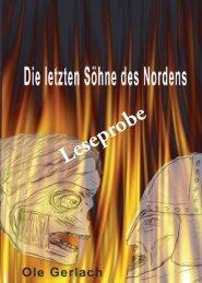 Leseprobe Die letzten Soehne des Nordens - Hierophant-Verlag