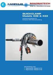QUICKCLAMP Modelle 432 & 433