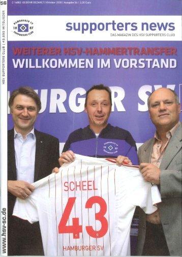 Ausgabe 56 10/2008 - HSV Supporters