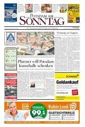 Plattner will Potsdam Kunsthalle schenken - Potsdamer Neueste ...