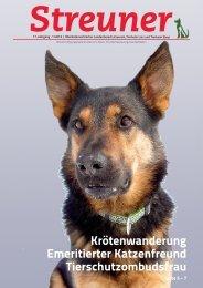 Krötenwanderung Emeritierter Katzenfreund ... - Tierheim Linz