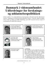 Danmark i vidensamfundet: Udfordringer for forsknings ... - Djøf Forlag