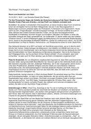 Raum zum Ausbrüten von Ideen - IG Kultur Wien