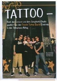 Ganzseitiges Foto - Classic Tattoo