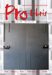 Cały numer 23 w jednym pliku PDF - Pro Libris - Wojewódzka i ...