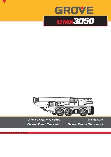 All-Terrain Crane AT-Kran Grue Tout Terrain Grúa Todo Terreno