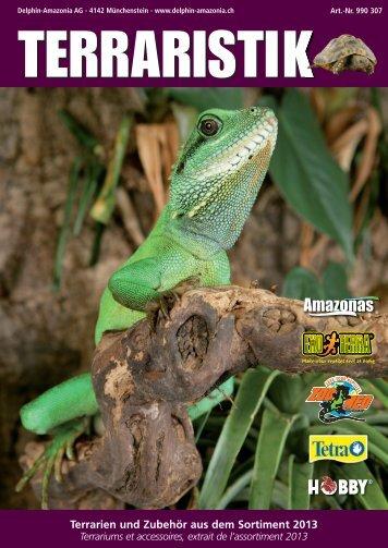 Terrarien und Zubehör aus dem Sortiment 2013 - Amazonas-World