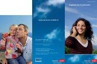 Angebote für Privatkunden  www.swisscom ... - Swisscom Online Shop