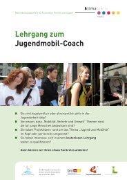 Lehrgang zum Jugendmobil-Coach
