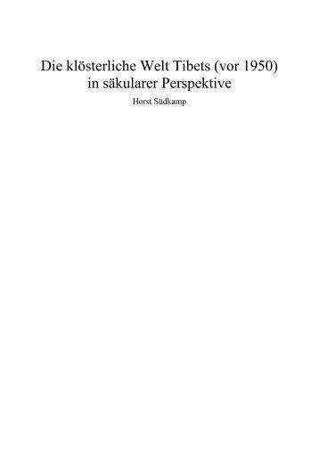 pa - Horst Südkamp - Kulturhistorische Studien