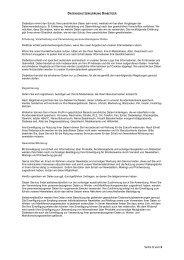 Datenschutzerklärung - DIABETIZER