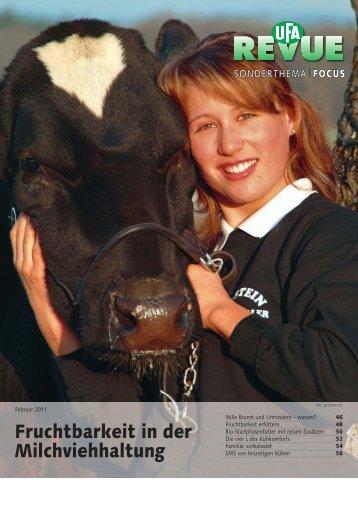 Fruchtbarkeit in der Milchviehhaltung (PDF, 4.7 MB) - Swissmilk