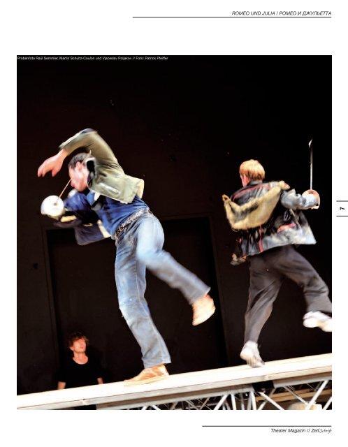 Theatermagazin ZeitSchrift 1 10/11 - Druschba-Spezial
