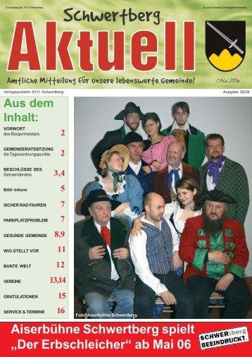 Gemeindezeitung Mai - Schwertberg