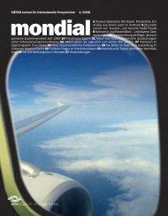 Leseprobe 1/2008 herunterladen - Mondial