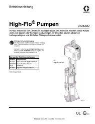 312639D High-Flo Pumps, German - Graco Inc.